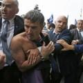 Le directeur des ressources humaines d'Air France, Xavier Broseta, agressé lors d'une manifestation le 5 octobre