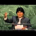 Vers un monde multipolaire ? Evo Moralès (Bolivie) lors du débat 2015 de l'Assemblée générale de l'ONU (septembre 2015)