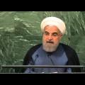 Vers un monde multipolaire ? Hassan Rohani (Iran) lors du débat 2015 de l'Assemblée générale de l'ONU (septembre 2015)