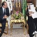 Notre grand Mamamouchi de l'Elysée pourrait utiliser ses liens particulièrement Arabie saoudite