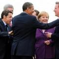 Sarkozy puis Hollande, Obama, Merkel, Cameron
