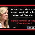Justice sociale, petit rappel : les questions de Marion Maréchal-Le pen auxquelles n'a jamais daigné répondre Marisol Touraine (octobre 2014)