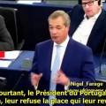« Nous vivons dans une Europe à la sauce Brejnev » – Nigel Farage au Parlement européen (27 octobre 2015)