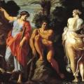 Hercule entre le vice et la vertu (Annibale Carracci, 1596)