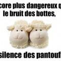 Les Français ont une fois de plus chaussé leurs pantoufles en Mouton de Panurge..