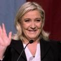 Marine Le Pen à l'annonce des résultats le 6 décembre 2015