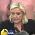 Conférence de presse de Marine Le Pen à Lille (07 décembre 2015)