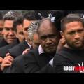 Le bouleversant adieu des All Blacks à Jonah Lomu (30 novembre 2015)