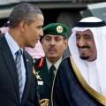 Barack Obama et le Roi Salman..