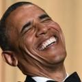 Obama se marre