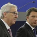 Rien ne va plus entre Matteo Renzi et Jean-Clauude Juncker..