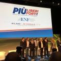 Discours de Marine Le Pen à Milan lors du meeting Europe des Nations et des Libertés (28 janvier 2016)