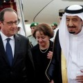 Hollande et l'Arabie Saoudite
