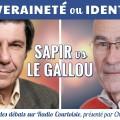 Souveraineté ou identité ? Le débat Jacques Sapir/Jean-Yves Le Gallou (Radio Courtoisie – 13 avril 2016)
