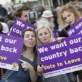 Les fameux vieux incultes ou nauséabonds qui ont voté leave