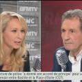 Marion Maréchal Le Pen face à Jean-Jacques «Bourin» sur BFMTV (27 juin 2016)