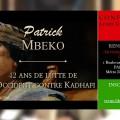 «42 ans de lutte de l'Occident contre Kadhafi» – Une conférence de Patrick Mbeko (Cerclee Aristote, 31 octobre 2016)