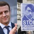 Le gentil Macron, nouvelle cible du terrible et manipulateur d'élections démon russe