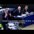 « J'ai l'impression d'assister à la réunion d'une secte » : Nigel Farage au parlement européen sur le CETA (15 février 2017)