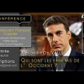 «Les ennemis de l'Occident»  – Une conférence de Alexandre del Valle (Cercle Aristote, 23 janvier 2017)