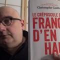 Michel Drac analyse le livre «Le crépuscule de la France d'en haut» de Christophe Guilluy (25 janvier 2017)