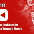 Petite analyse vidéo de l'»ambiance» totalement fabriquée des meetings d'Emmanuel Macron (13 février 2017)