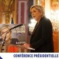«Politique internationale de la France dans un monde multipolaire» – Une confrence de presse de Marine Le Pen (24 février 2017)