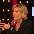 Marine LePen face à François Lenglet sur RTL