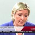 Marine Le Pen remarquable face aux patrons de la CPME (06 mars 2017)