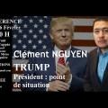 Trump à la Maison-Blanche : vers une reconfiguration de l'ordre international ? Une conférence de Clément Nguyen (Cercle Aristote, 06 février 2017)