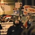 Une manifestation contre la criminalité des migrants à Leipzig, en janvier 2016