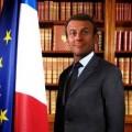 Macron à l'Elysée..