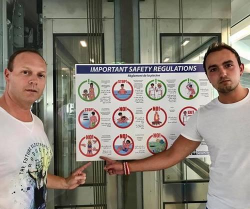 Autriche, migrants et bikini