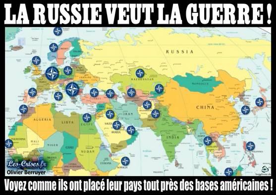 Les russes veulent la guerre