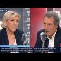 Marine Le Pen chez Jean-Jacques Bourrin (