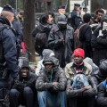 Migrants clandestins à Paris en 2018
