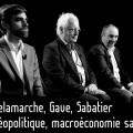 Géopolitique et macroéconomie sans filtre – Entretien avec Olivier Delamarche, Charles Gave et Pierre Sabatier (03 avril 2018)