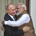 Narendra Modi et Vladimir Poutine